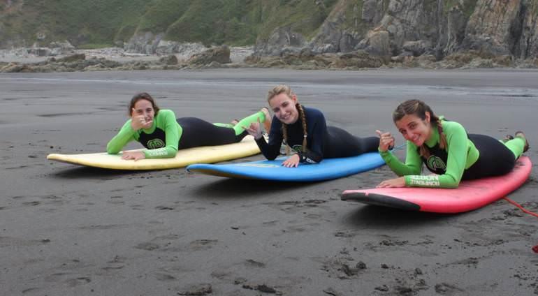 10 razones para elegir un campamento de surf