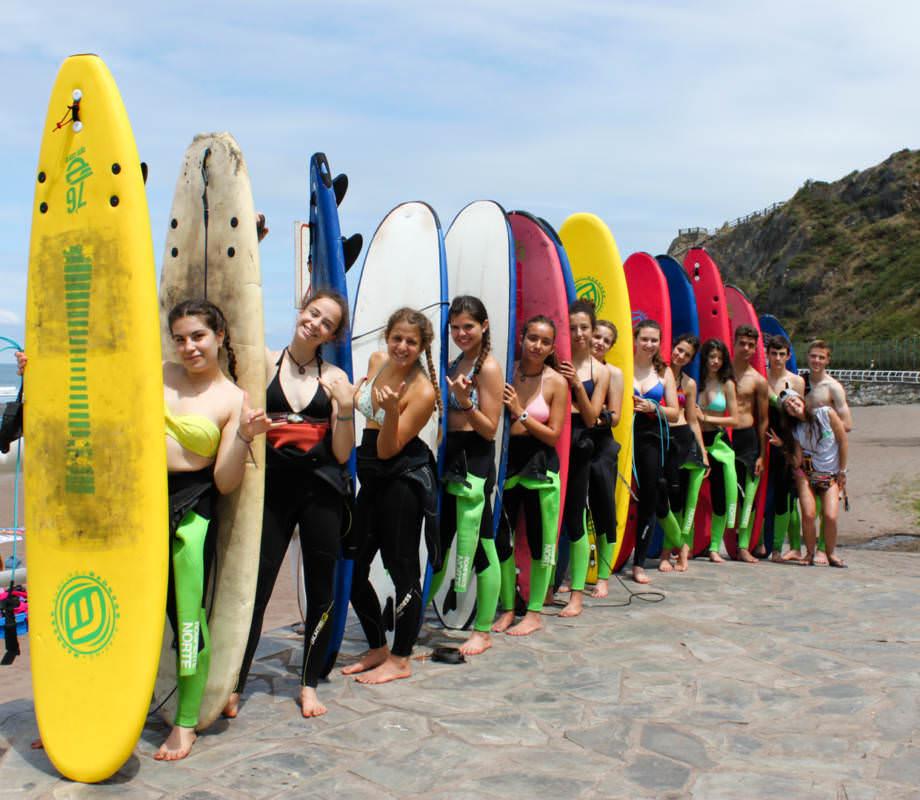 Campamento de surf Asturias