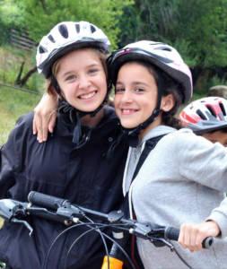 campamento de verano bicicletas