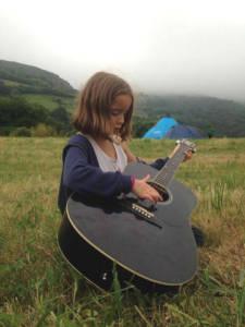 campamento de verano guitarra